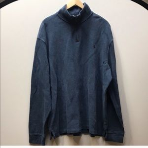 Polo by Ralph Lauren Blue 1/4 Zip Sweatshirt XXL